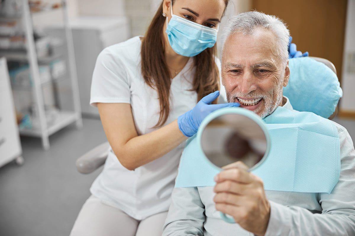 ripristinare i denti persi